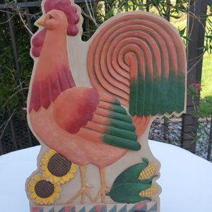Jim Shore Rooster Garden Artistry by Enesco Decor